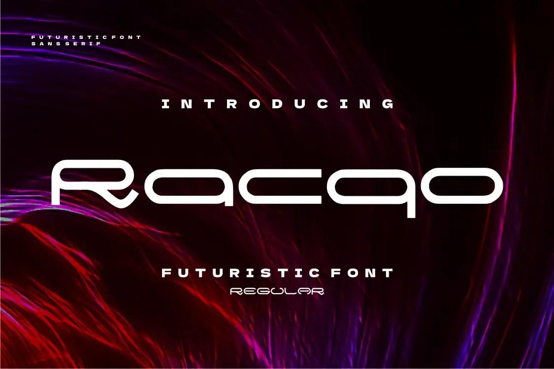 Racqo Display Font -1