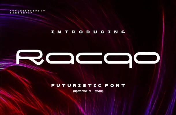 Racqo Font