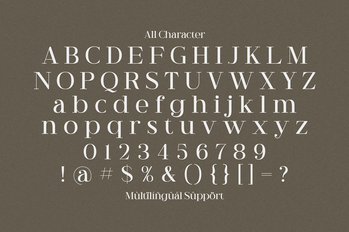 Riley Frost Casual Serif Font -3