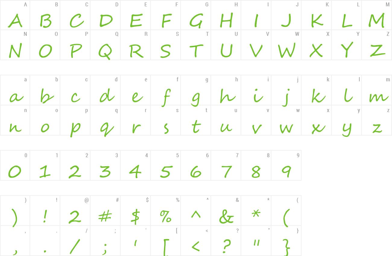 Segoe Script Handwritten Font -2