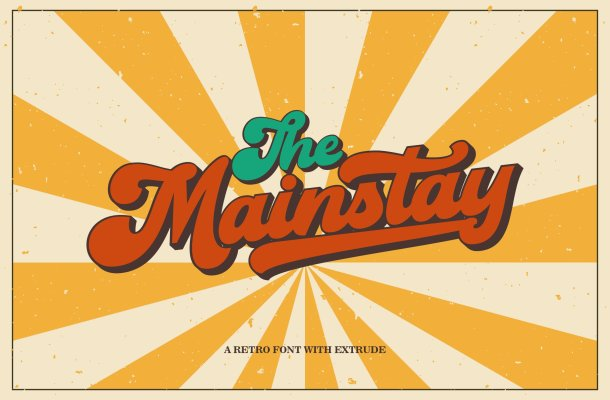 The Mainstay Font