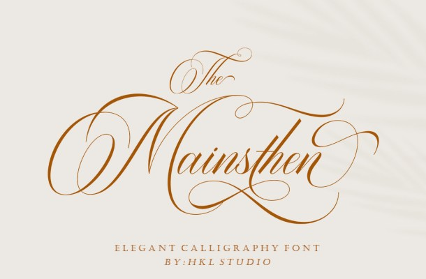 The Mainsthen Font