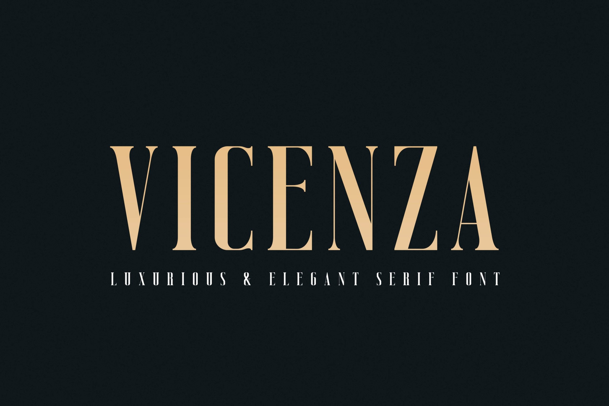 Vicenza Luxury Elegant Seriffont -1