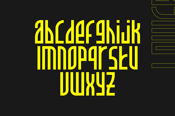 Allience Bold Display Font -2