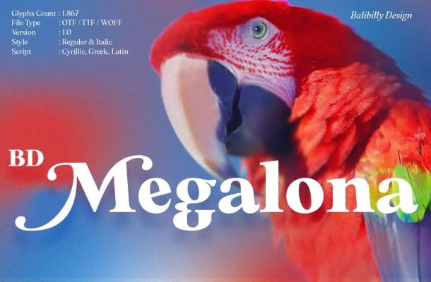BD Megalona Font