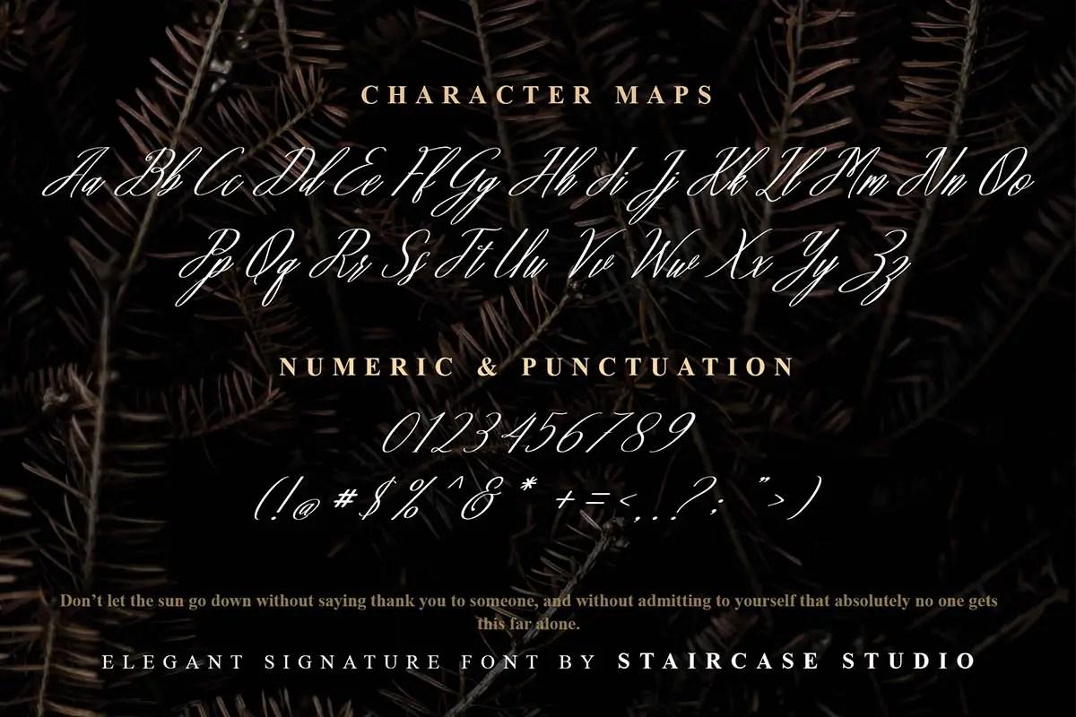 Baby Groovy Elegant Font -3