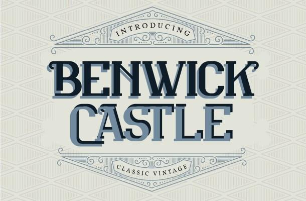 Benwick Castle Font