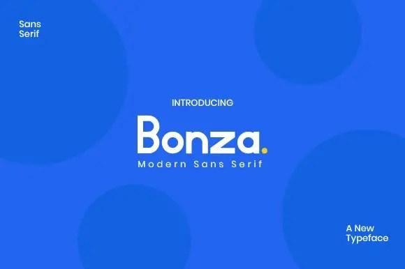 Bonza Font