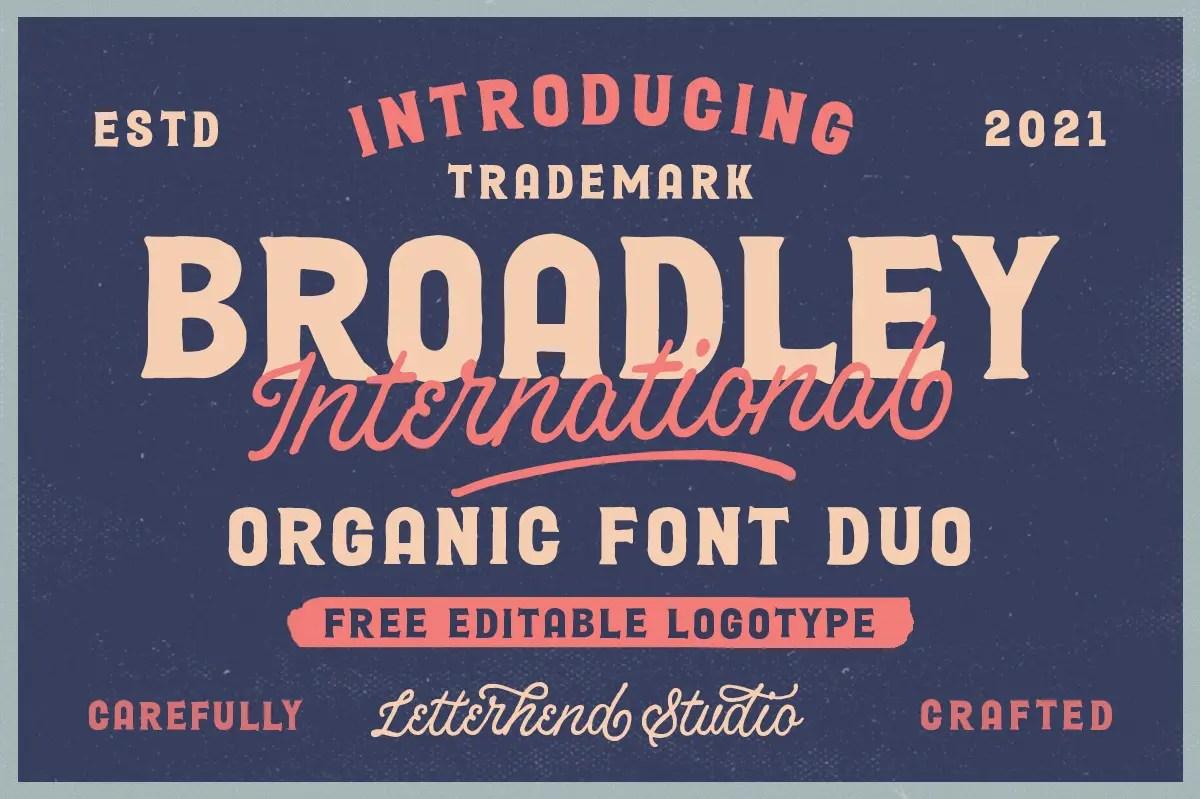 Broadley Serif Script Font Duo -1