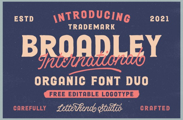 Broadley Font Duo
