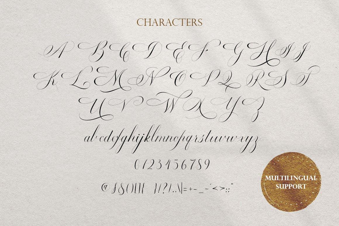 Estarossa Classic Script Font -3