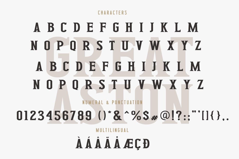 Great Aston Modern Serif Font -3