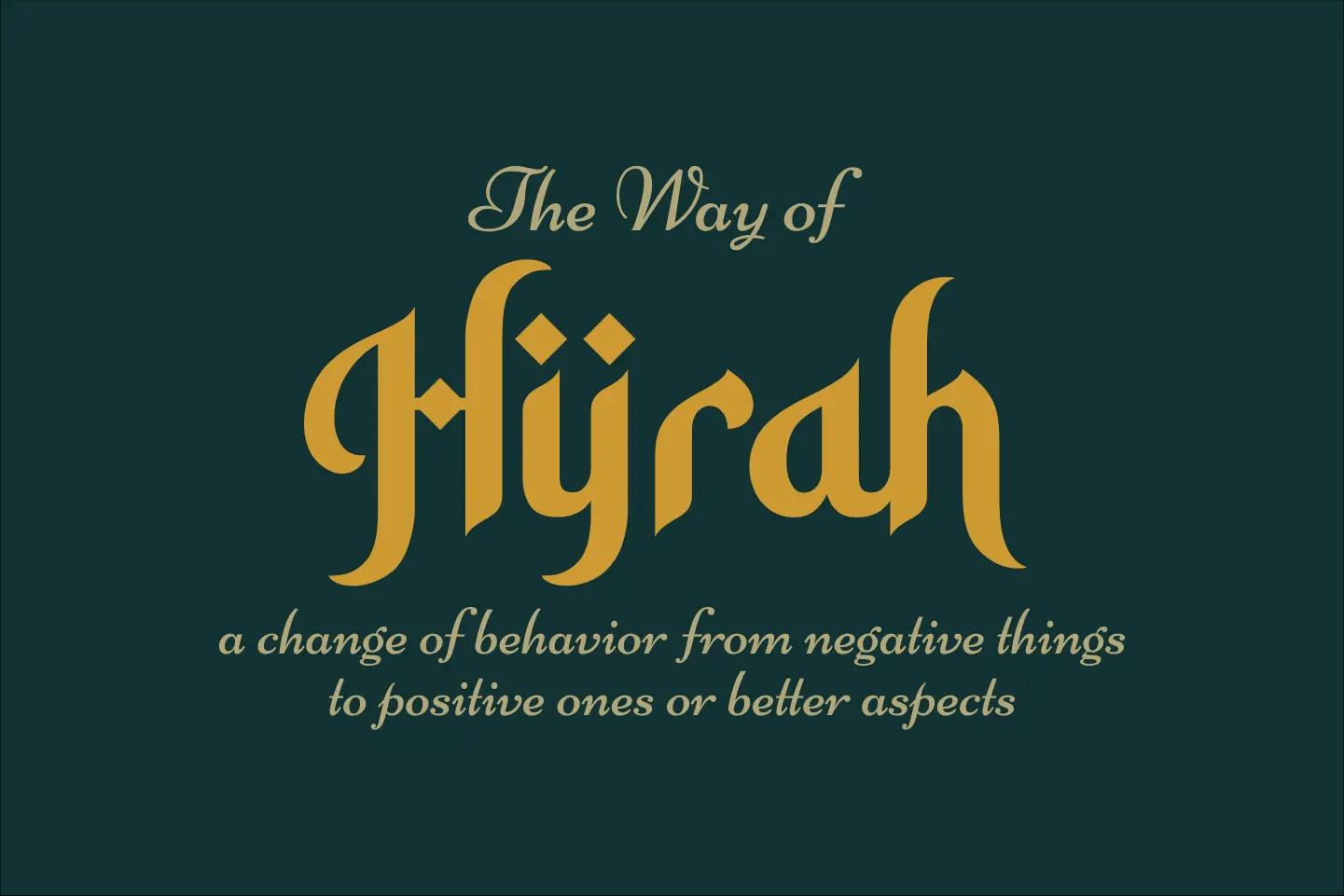 Hidayatullah Arabic Font -2