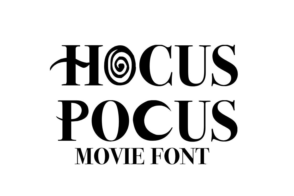 Hocus Pocus Serif Font -1