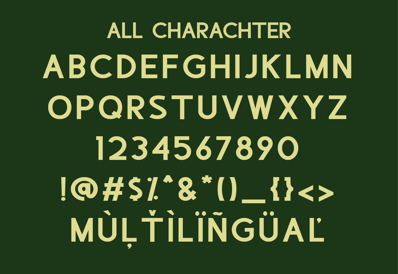 Lembaten Sans Serif Font -3