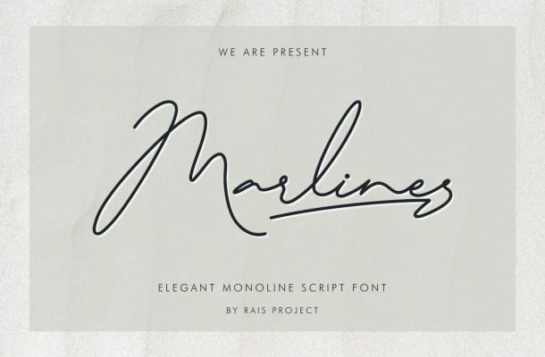 Marlines Font