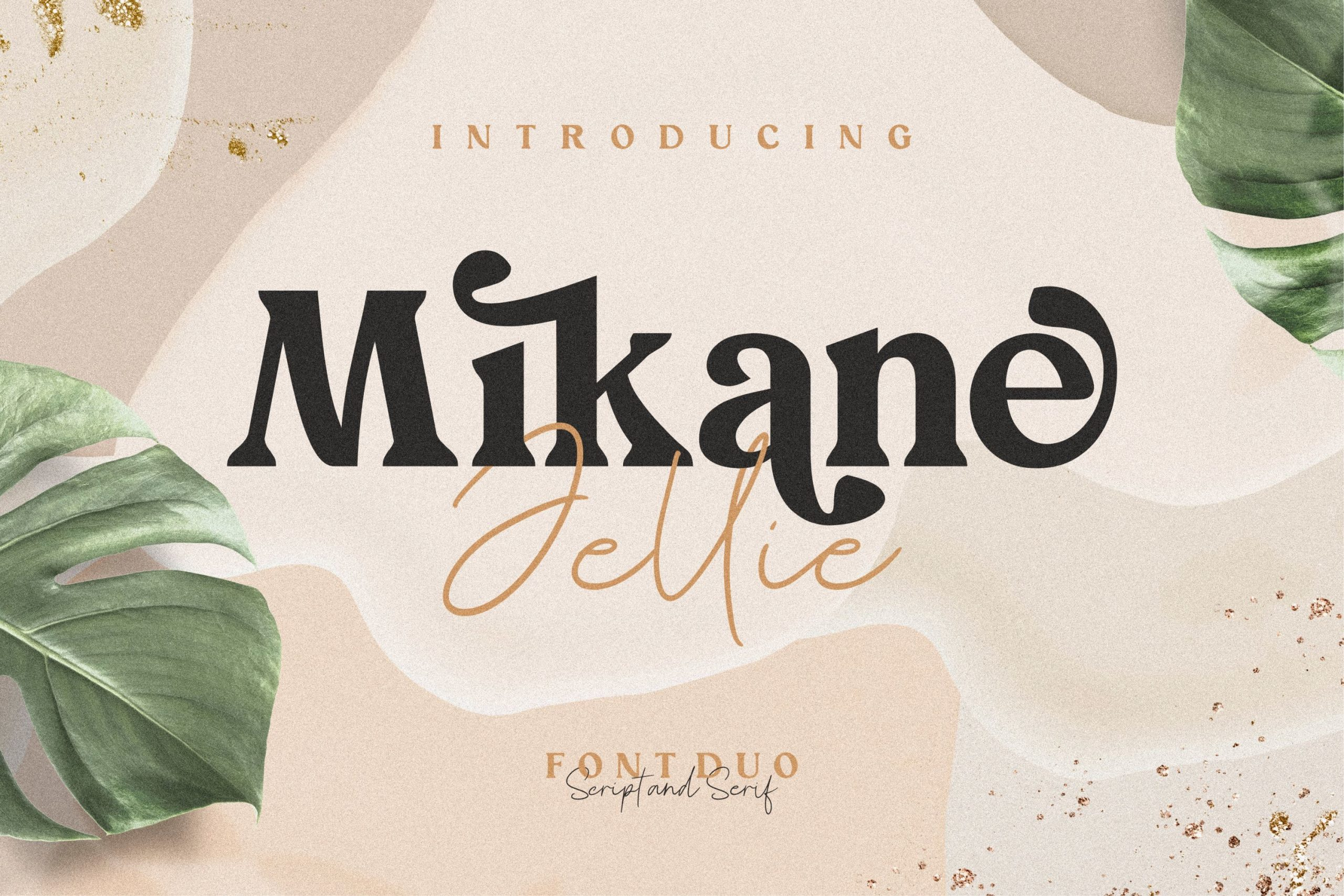 Mikane Jellie Font Duo -1