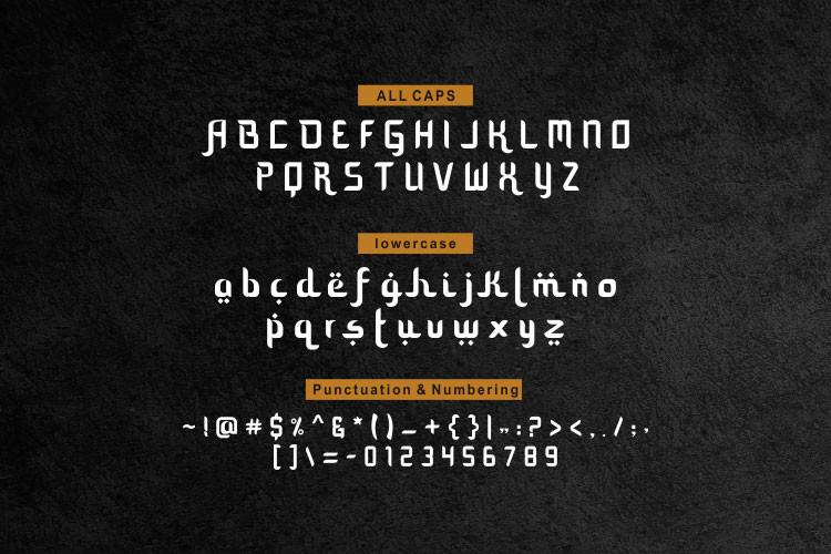 Mozaik Ramadhan Modern Typeface -3