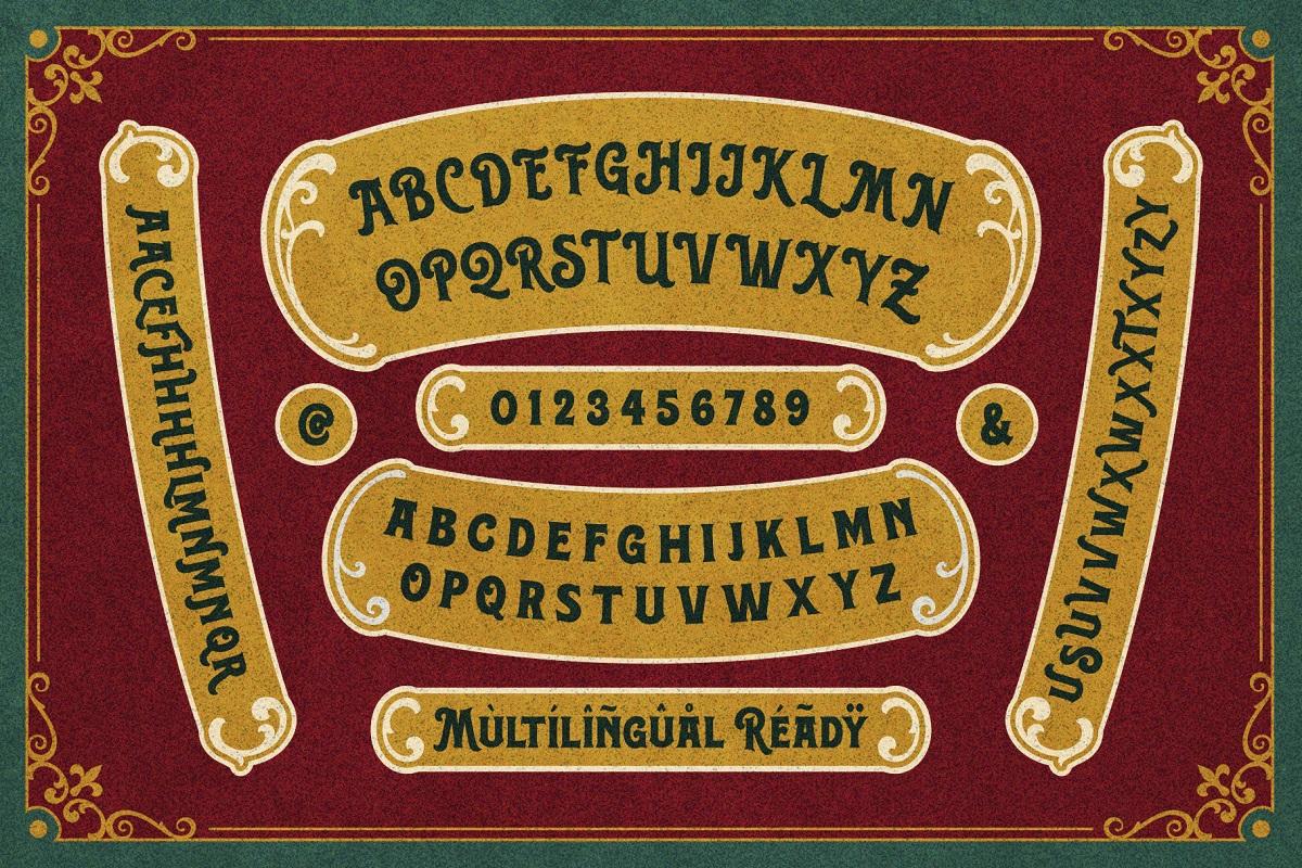 Rosvard Bold Vintage Font -3