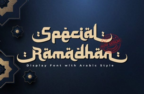 Special Ramadhan Font