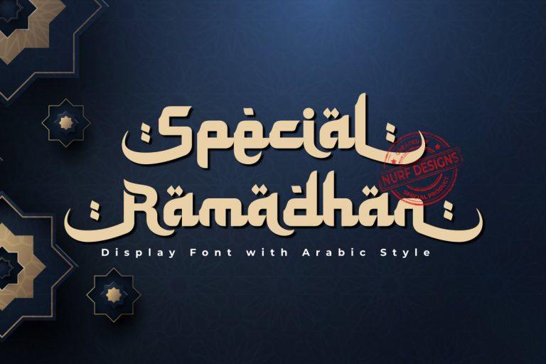 Special Ramadhan Display Font -1