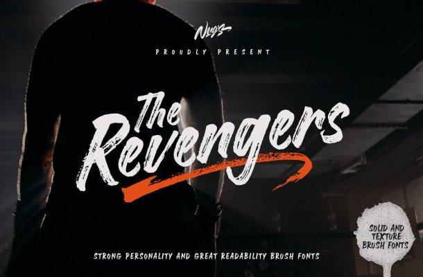 The Revengers Font