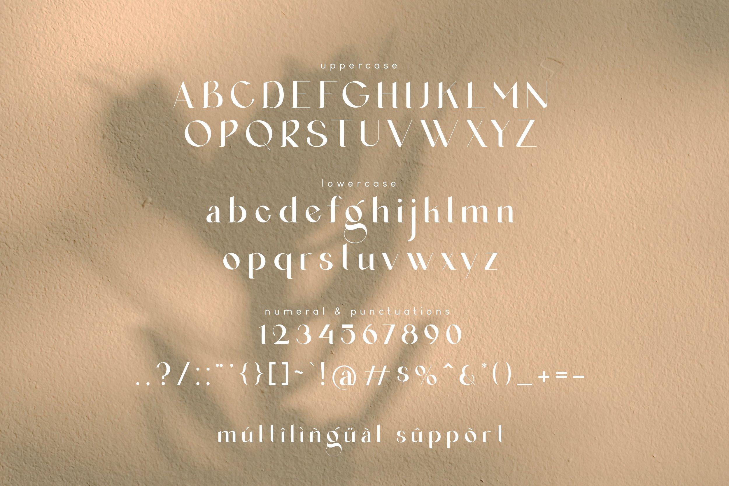 Agraham Serif Font -3