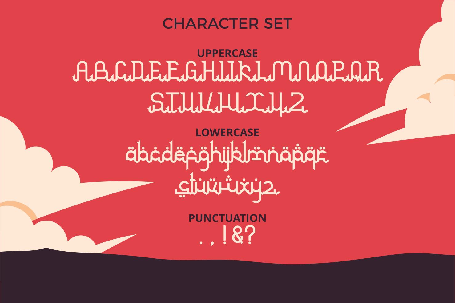 Arabian Arabic Style Font -3