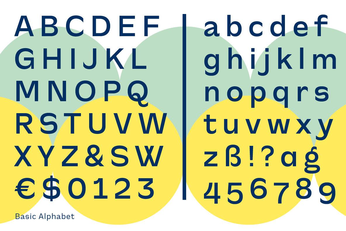 CA Slalom Sans Serif Typeface -3