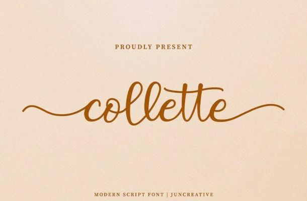 Collette Font