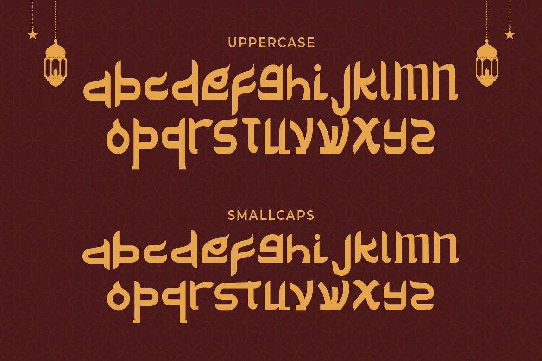 Delik Modern Arabic Font -2