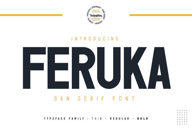 Feruka Sans Serif Font -1