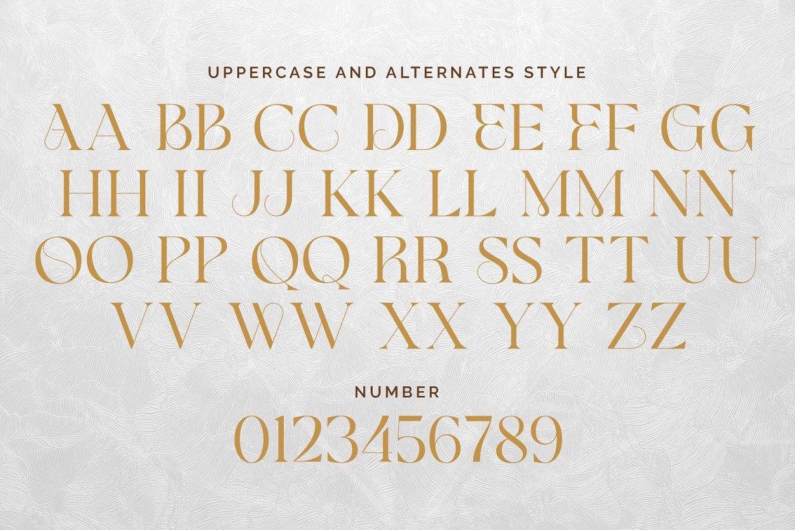Glamore Luxury Serif Font -2
