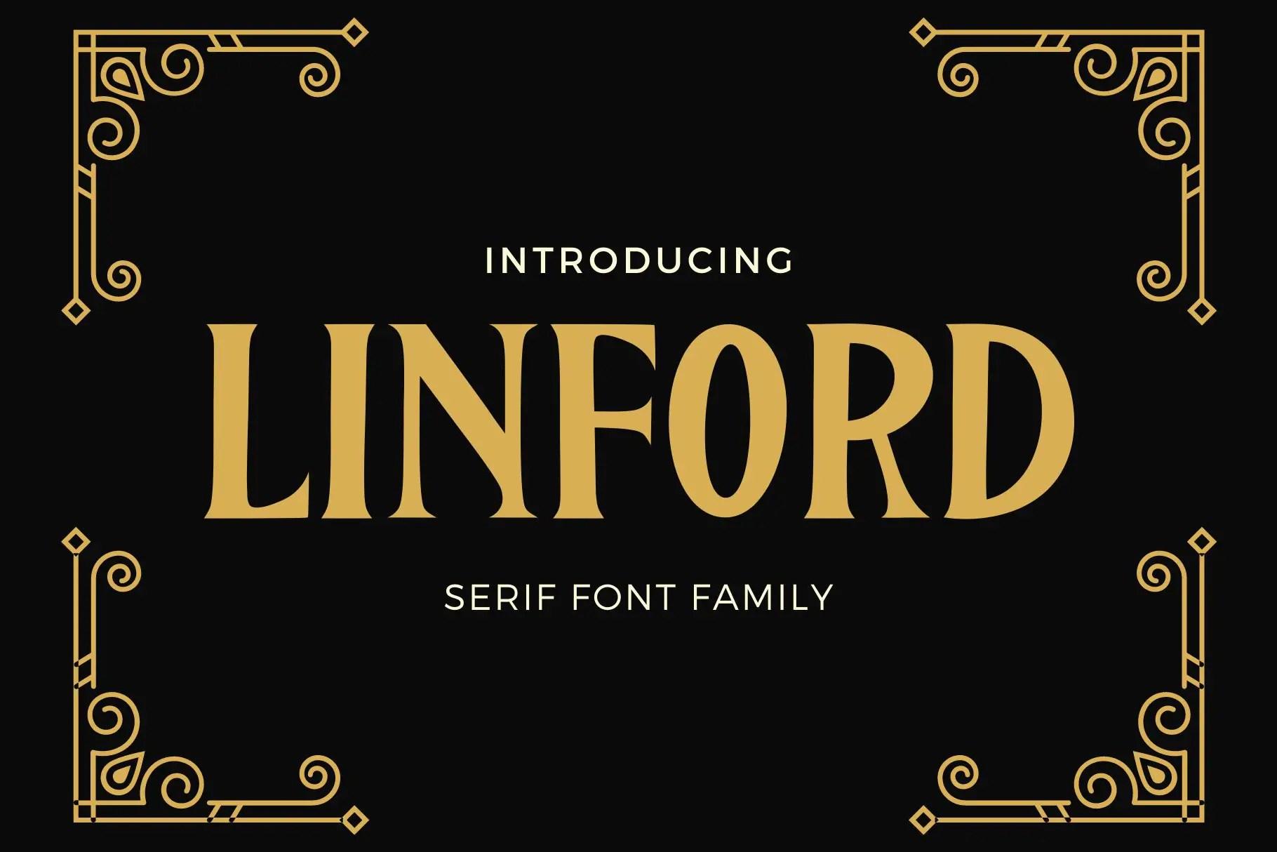Linford Serif Font -1