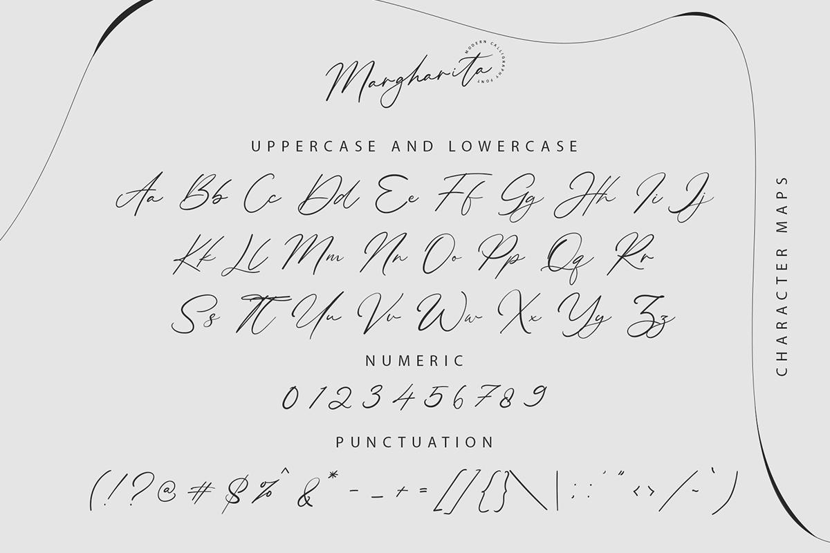Margharita Handwritten Font -3