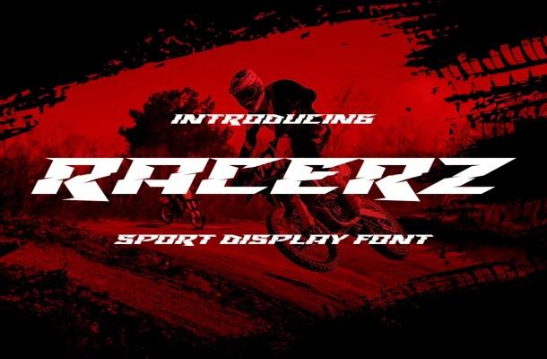 Racerz Font