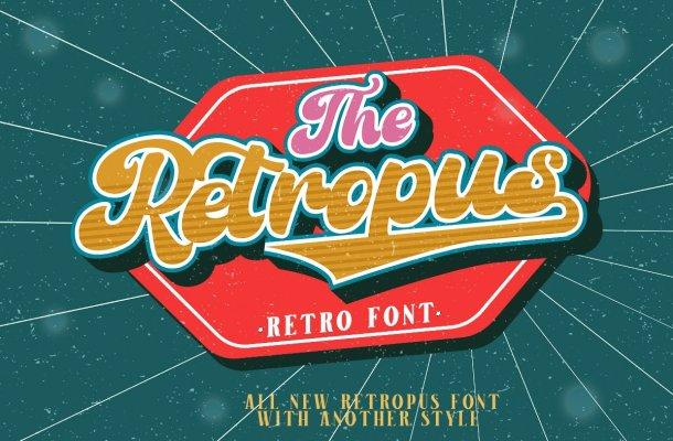 Retropus Font