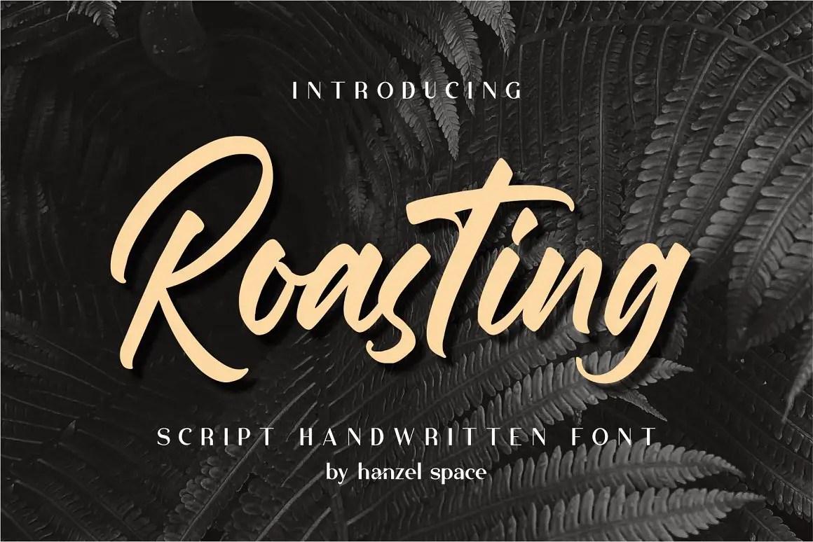 Roasting Bold Script Font -1