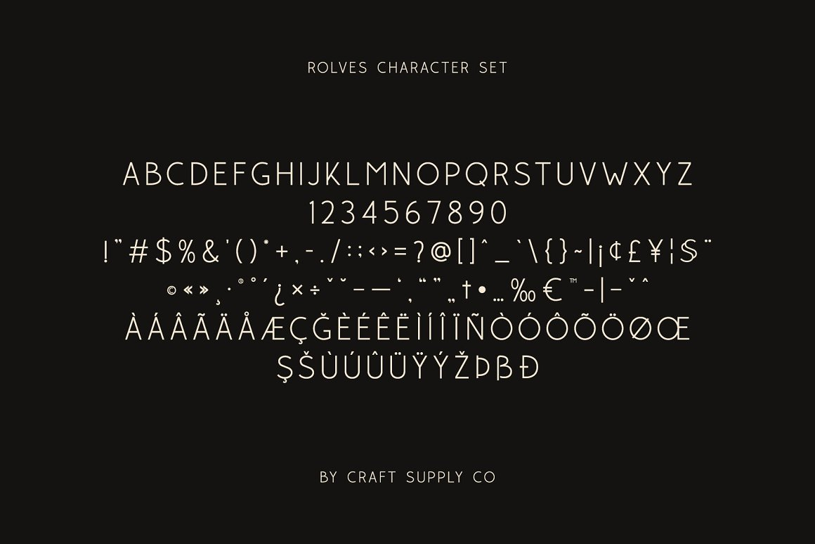 Rolves Sans Serif Font Family -3