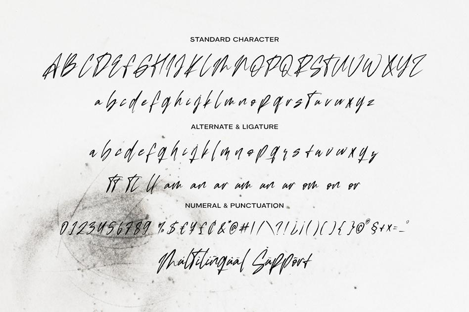 Wightmad Handwritten Script Font -3