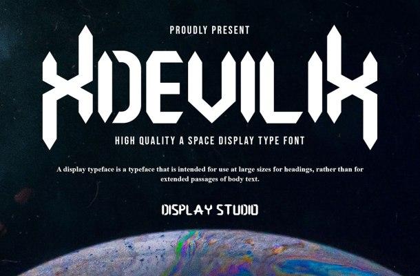 Xdevilix Font