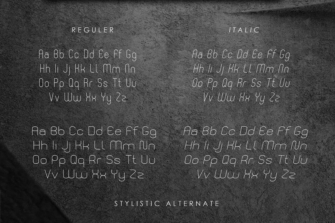 BEFANO Sans Serif Font -2