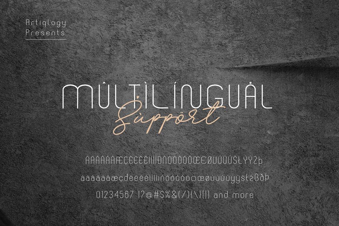 BEFANO Sans Serif Font -3