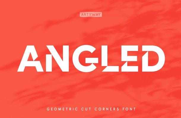 Angles Font
