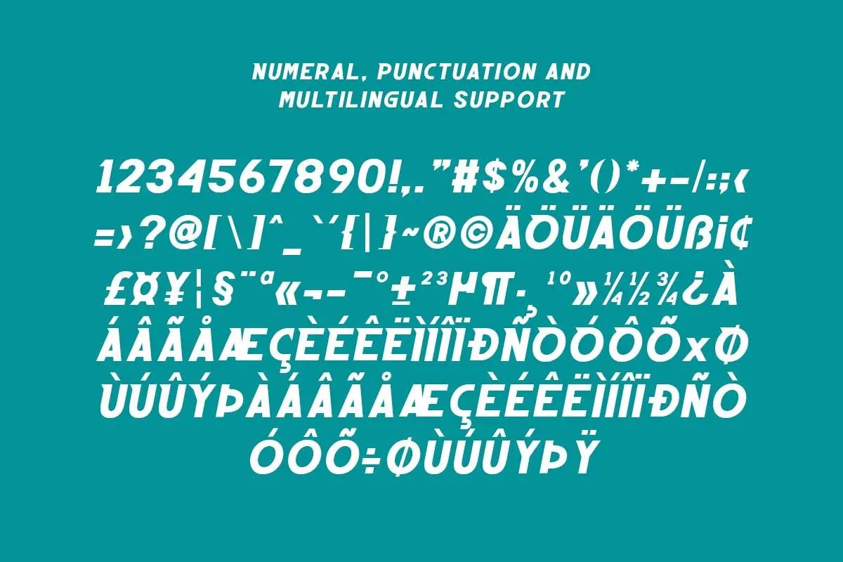Emizen Display Font -3