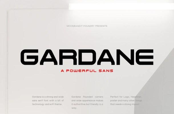 Gardane Font