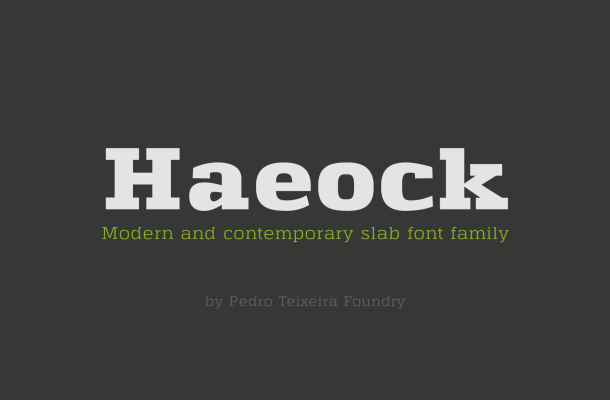 Haeock Family Font