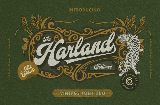 Harland Font Duo