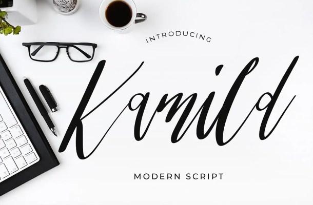 Kamild Font