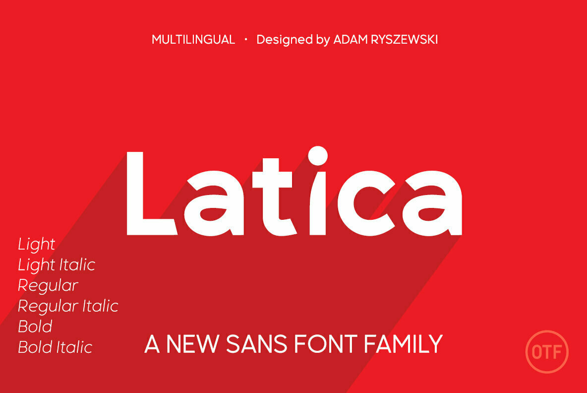 Latica Sans Serif Font Family -1